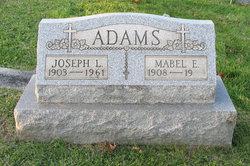 Mabel E. <I>Walnoha</I> Adams
