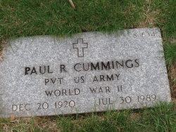 Paul R Cummings