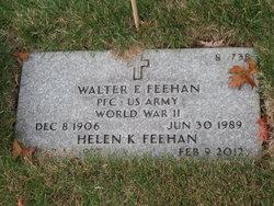 Walter E Feehan