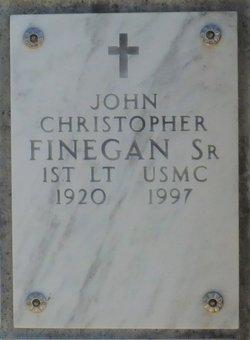 """John Christopher """"Bud"""" Finegan, Sr"""