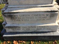 Dr John Lawson Cameron