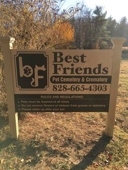 Best Friends Pet Cemetery
