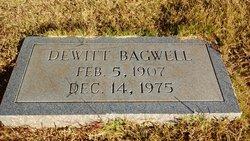 Dewitt W Bagwell
