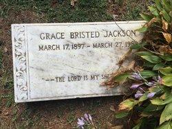 """Katherine Elizabeth """"Grace"""" <I>Bristed</I> Jackson"""