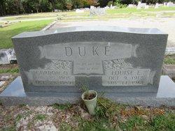 """Gordon Oscar """"Buck"""" Duke"""