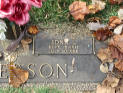Edna Louise <I>Wright</I> Anderson