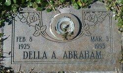 Delia Marie Alberta <I>Templin</I> Abraham
