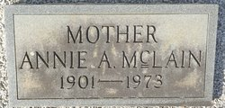 Annie <I>Allen</I> McLain