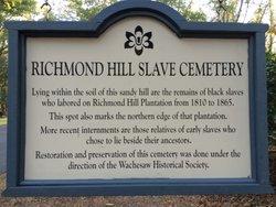 Richmond Hill Slave Cemetery