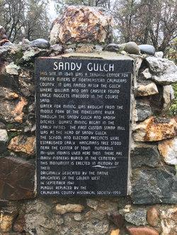 Sandy Gulch Cemetery