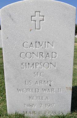 Calvin Conrad Simpson
