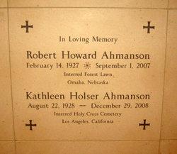 "Kathleen ""Kathy"" <I>Holser</I> Ahmanson"