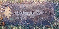 Marion E. Adams