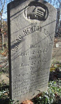 Isaac Newton Koontz