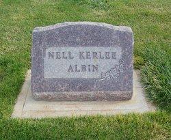 Nell <I>Kerlee</I> Albin