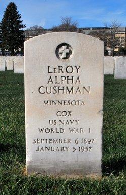 Leroy Alpha Cushman
