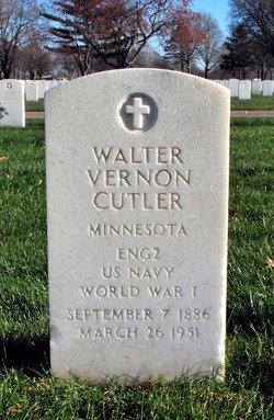 Walter Vernon Cutler