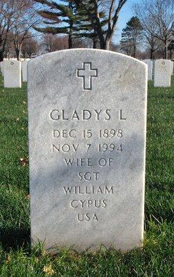 Gladys L Cypus