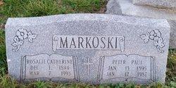 "Rosalie Catherine ""Rose"" <I>Krieg</I> Markoski"