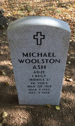 Michael Woolston Ash