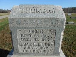 Mamie L <I>James</I> Thomas