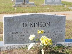 Evelyn Cleavie <I>Parker</I> Dickinson