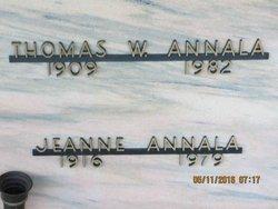 Emma Jeanne <I>Isenberg</I> Annala