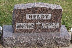 Hazel Elizabeth <I>Struckman</I> Heldt