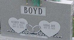 Audrey Nell <I>Bourne</I> Boyd