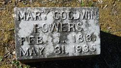 Mary <I>Goodwin</I> Powers
