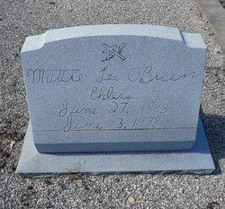 Mattie Lee Jobe <I>O'Brien</I> Ehlers
