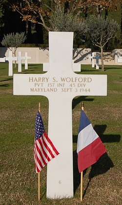 Pvt Harry S Wolford