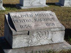 Bertha Kahanow