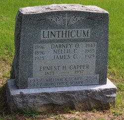 "Dorothy V ""Dot"" <I>Linthicum</I> Scaife"