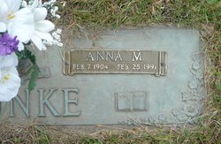 Anna Matilda <I>Luebke</I> Bunke