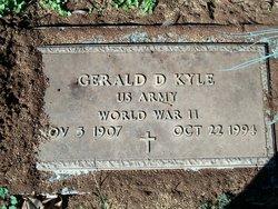 Gerald D Kyle