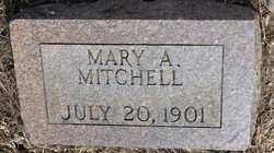 Mary A Mitchell