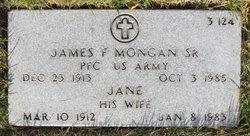 PFC James F. Mongan, Sr