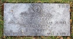 Margaret V Ramey
