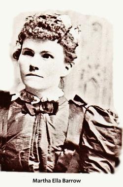 Martha Ella <I>Barrow</I> Thaxter