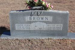 Edith Fern <I>Barker</I> Brown