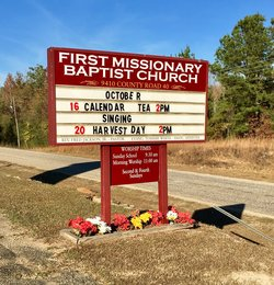 First Missionary Baptist Church Cemetery