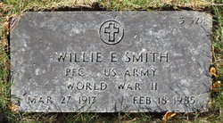 PFC Willie E. Smith