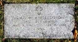 Lewis M Whitecotton