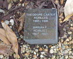 Theodore Carter Achilles
