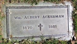 "William Albert ""Albert"" Ackerman"