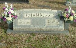 Grace May <I>Greene</I> Chambers