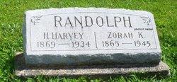 Zorah Kate <I>Bashore</I> Randolph