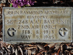 SGT John Raymond McCreary