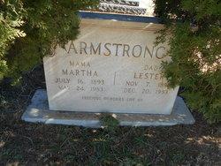 Martha E. <I>Bagwell</I> Armstrong